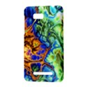 Abstract Fractal Batik Art Green Blue Brown HTC One SU T528W Hardshell Case View3