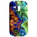 Abstract Fractal Batik Art Green Blue Brown Samsung Galaxy S3 MINI I8190 Hardshell Case View2