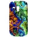 Abstract Fractal Batik Art Green Blue Brown Samsung Galaxy S3 MINI I8190 Hardshell Case View3