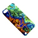 Abstract Fractal Batik Art Green Blue Brown Apple iPod Touch 5 Hardshell Case with Stand View5