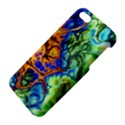 Abstract Fractal Batik Art Green Blue Brown Apple iPhone 5 Premium Hardshell Case View4
