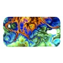 Abstract Fractal Batik Art Green Blue Brown Samsung Galaxy S4 I9500/I9505 Hardshell Case View1