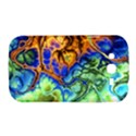 Abstract Fractal Batik Art Green Blue Brown Samsung Galaxy Grand DUOS I9082 Hardshell Case View1