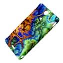 Abstract Fractal Batik Art Green Blue Brown Sony Xperia TX View4