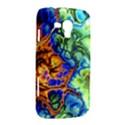 Abstract Fractal Batik Art Green Blue Brown Samsung Galaxy Duos I8262 Hardshell Case  View2