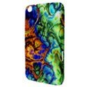 Abstract Fractal Batik Art Green Blue Brown Samsung Galaxy Tab 3 (8 ) T3100 Hardshell Case  View3