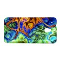 Abstract Fractal Batik Art Green Blue Brown HTC One Mini (601e) M4 Hardshell Case View1