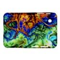 Abstract Fractal Batik Art Green Blue Brown Samsung Galaxy Tab 2 (7 ) P3100 Hardshell Case  View1