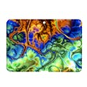 Abstract Fractal Batik Art Green Blue Brown Samsung Galaxy Tab 2 (10.1 ) P5100 Hardshell Case  View1