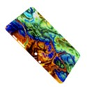 Abstract Fractal Batik Art Green Blue Brown Samsung Galaxy Tab 2 (10.1 ) P5100 Hardshell Case  View5