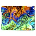 Abstract Fractal Batik Art Green Blue Brown iPad Air Hardshell Cases View1