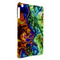 Abstract Fractal Batik Art Green Blue Brown iPad Air Hardshell Cases View2