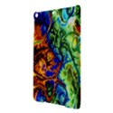 Abstract Fractal Batik Art Green Blue Brown iPad Air Hardshell Cases View3