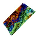 Abstract Fractal Batik Art Green Blue Brown iPad Air Hardshell Cases View4