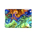 Abstract Fractal Batik Art Green Blue Brown iPad Mini 2 Hardshell Cases View1