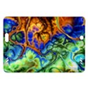 Abstract Fractal Batik Art Green Blue Brown Amazon Kindle Fire HD (2013) Hardshell Case View1