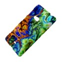 Abstract Fractal Batik Art Green Blue Brown Nokia Lumia 625 View4