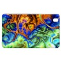 Abstract Fractal Batik Art Green Blue Brown Samsung Galaxy Tab Pro 8.4 Hardshell Case View1
