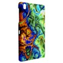 Abstract Fractal Batik Art Green Blue Brown Samsung Galaxy Tab Pro 8.4 Hardshell Case View2