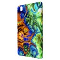 Abstract Fractal Batik Art Green Blue Brown Samsung Galaxy Tab Pro 8.4 Hardshell Case View3