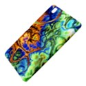 Abstract Fractal Batik Art Green Blue Brown Samsung Galaxy Tab Pro 8.4 Hardshell Case View5