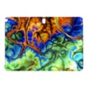 Abstract Fractal Batik Art Green Blue Brown Samsung Galaxy Tab Pro 12.2 Hardshell Case View1