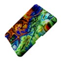 Abstract Fractal Batik Art Green Blue Brown Amazon Kindle Fire (2012) Hardshell Case View4