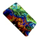 Abstract Fractal Batik Art Green Blue Brown Amazon Kindle Fire (2012) Hardshell Case View5