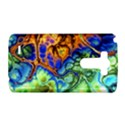 Abstract Fractal Batik Art Green Blue Brown LG G3 Hardshell Case View1