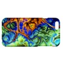 Abstract Fractal Batik Art Green Blue Brown Apple iPhone 6 Plus/6S Plus Hardshell Case View1