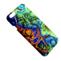 Abstract Fractal Batik Art Green Blue Brown Apple iPhone 6 Plus/6S Plus Hardshell Case View5