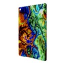 Abstract Fractal Batik Art Green Blue Brown iPad Air 2 Hardshell Cases View3