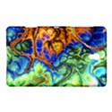 Abstract Fractal Batik Art Green Blue Brown Samsung Galaxy Tab S (8.4 ) Hardshell Case  View1