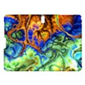 Abstract Fractal Batik Art Green Blue Brown Samsung Galaxy Tab S (10.5 ) Hardshell Case  View1