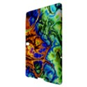 Abstract Fractal Batik Art Green Blue Brown Samsung Galaxy Tab S (10.5 ) Hardshell Case  View2