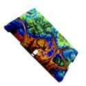 Abstract Fractal Batik Art Green Blue Brown Samsung Galaxy Tab S (10.5 ) Hardshell Case  View5