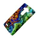Abstract Fractal Batik Art Green Blue Brown LG G4 Hardshell Case View4