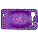 India Ornaments Mandala Pillar Blue Violet HTC Incredible S Hardshell Case  View1