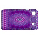 India Ornaments Mandala Pillar Blue Violet Samsung Galaxy S i9000 Hardshell Case  View1