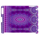 India Ornaments Mandala Pillar Blue Violet Apple iPad 2 Hardshell Case (Compatible with Smart Cover) View1