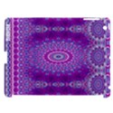 India Ornaments Mandala Pillar Blue Violet Apple iPad 3/4 Hardshell Case (Compatible with Smart Cover) View1