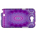 India Ornaments Mandala Pillar Blue Violet Samsung Galaxy Note 2 Hardshell Case View1