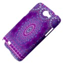 India Ornaments Mandala Pillar Blue Violet Samsung Galaxy Note 2 Hardshell Case View4