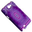 India Ornaments Mandala Pillar Blue Violet Samsung Galaxy Note 2 Hardshell Case View5