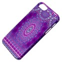 India Ornaments Mandala Pillar Blue Violet Apple iPhone 5 Classic Hardshell Case View4