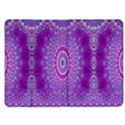 India Ornaments Mandala Pillar Blue Violet Kindle Fire (1st Gen) Flip Case View1