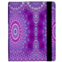 India Ornaments Mandala Pillar Blue Violet Kindle Fire (1st Gen) Flip Case View2