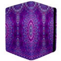 India Ornaments Mandala Pillar Blue Violet Kindle Fire (1st Gen) Flip Case View4