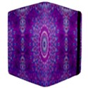 India Ornaments Mandala Pillar Blue Violet Apple iPad 3/4 Flip Case View4