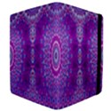 India Ornaments Mandala Pillar Blue Violet Apple iPad Mini Flip Case View4